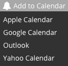 add to calendar options